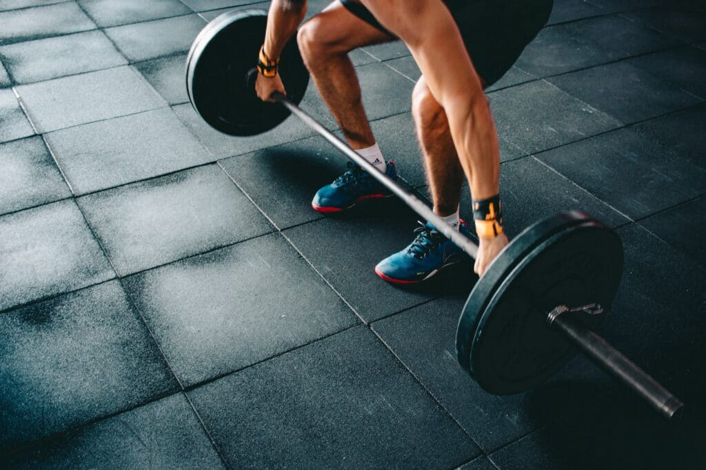 lifting weights to answer health question