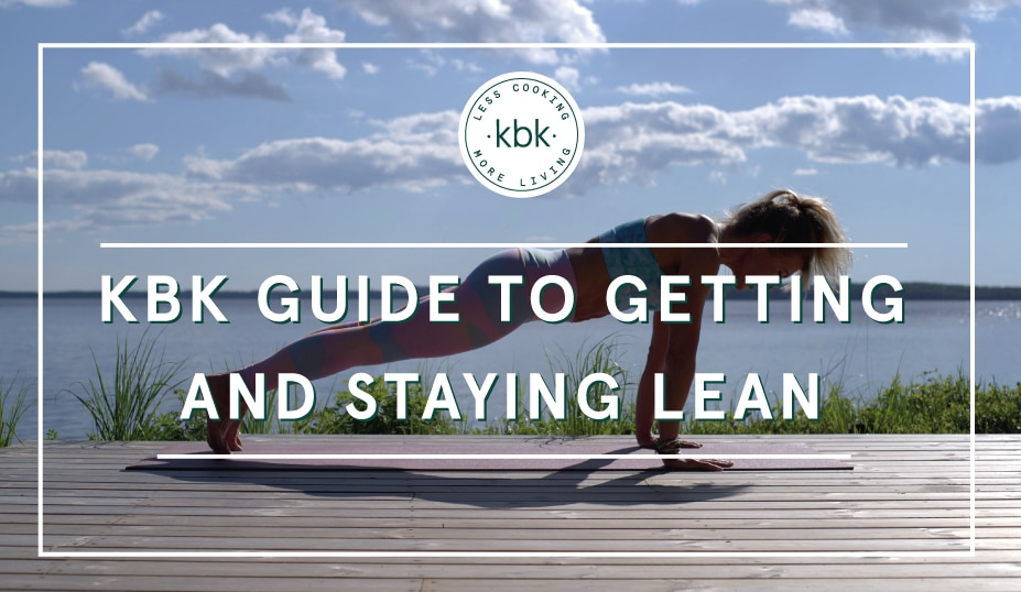 guide to getting lean infographic